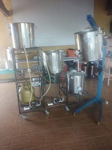 Equipamento de Cerveja Caseira 125L (apenas Pacote) - Foto 4