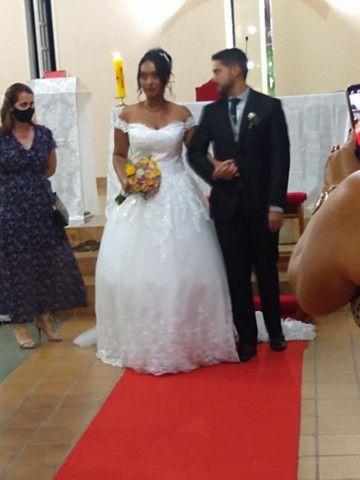 Vestido de Noiva Completo - Foto 2