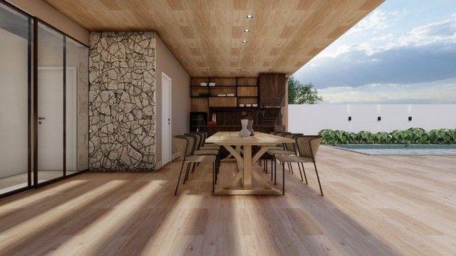 Casa de condomínio Linear 338M² Lote 1.000M² 4 suítes e tudo Mais. Alphaville Lagoa Ingles - Foto 9
