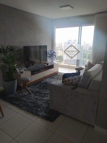 64m Apartamento com amplos quartos