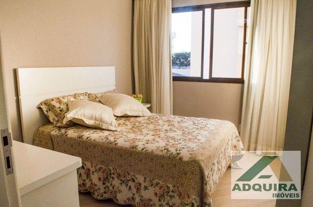 Apartamento com 3 quartos no Edifício Vitória Regia - Bairro Centro em Ponta Grossa - Foto 12