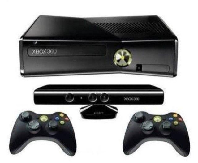 Xbox 360 com Kinect + 4 controles SÓ RESPONDO P W.APP - Foto 5