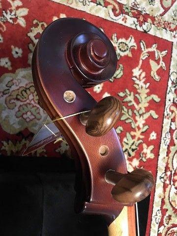Violoncelo 4/4 Nhureson premium madeira nobre exposta Araucaria Serie limitada - Foto 5
