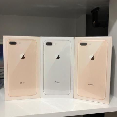 IPhone 8 Plus 64 Dourado, ZERO, Garantia de 1 Ano