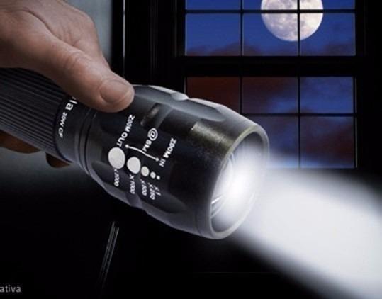 Lanterna Super Forte - Tática Militar