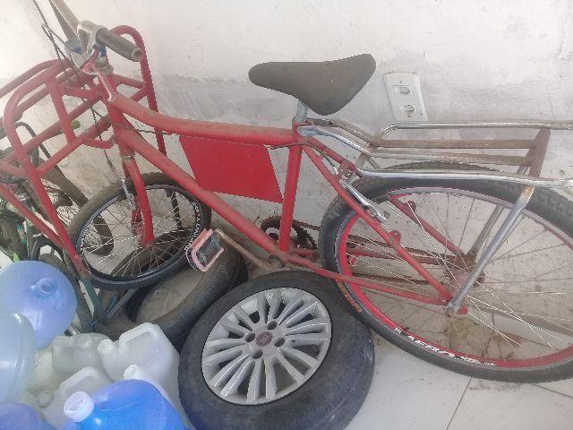 Bicicleta cargueiro máquina alverloque ( cada)