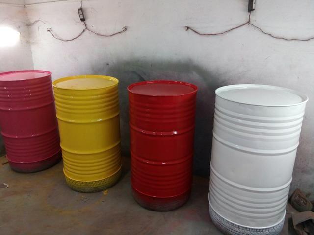 Vendo tambores decorativos
