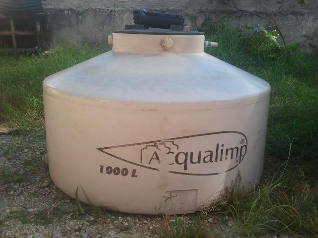 Caixa d'água de Polietileno 1.000L Bege