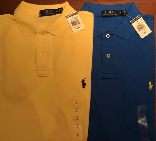 d436bc677 Camisa Polo Ralph Lauren / tam. M / Legítima / Nova - Roupas e ...