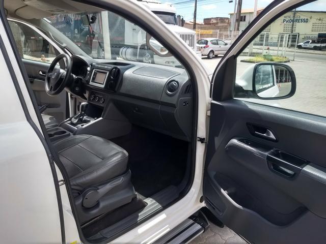 VW Amarok 2.0 Trendline TDI 4x4 Automatica 2013 - Foto 9