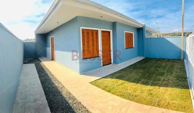 Casa nova com 2 dormitórios e ótimo pátio para lazer! - Foto 7