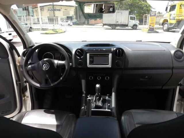 VW Amarok 2.0 Trendline TDI 4x4 Automatica 2013 - Foto 7