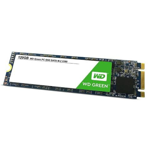 Ssd WD Green, 120GB, M.2, Leitura 545MB/s