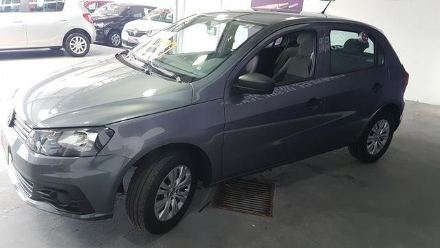 Vw - Volkswagen Gol 1.6 Cinza Metálico 2018 - Foto 4