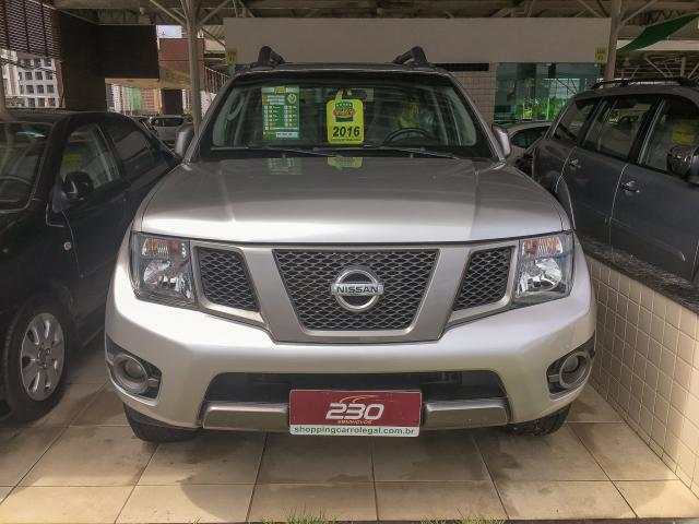 NISSAN FRONTIER 2016/2016 2.5 SV ATTACK 4X4 CD TURBO ELETRONIC DIESEL 4P AUTOMÁTICO - Foto 2