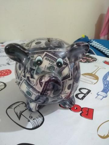 Cofre porquinho Dólar