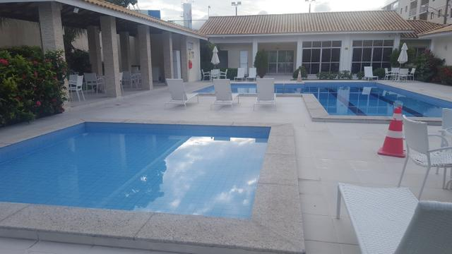Apartamento semi mobiliado 2/4 com suite em Buraquinho próximo a estrada do coco - Foto 9