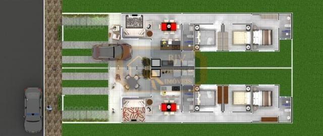 Casa geminada , em bairro planejado 96 m² , 3 dorm , um suíte ,pátio . - Foto 19