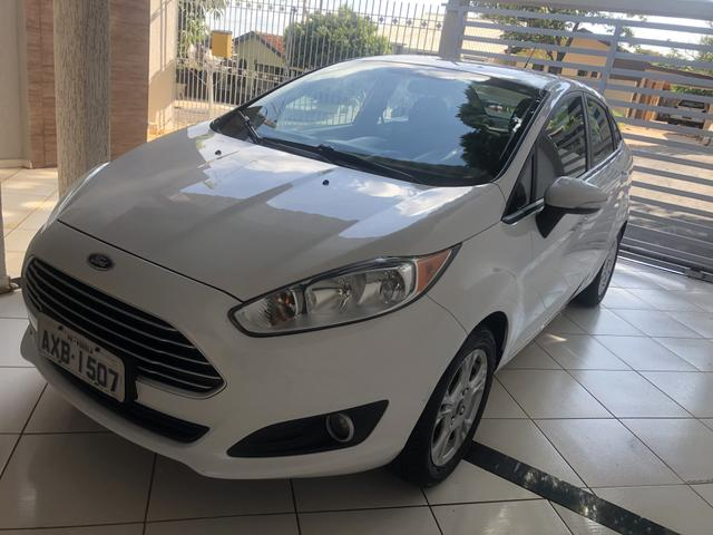 Ford New Fiesta Sendan, 1.6 Flex, Automático, Completo - Foto 16