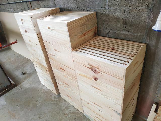 Caixa para abelha padrão Langstroth - Foto 3