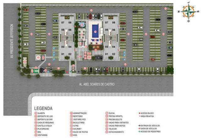 Apartamento 2Q, setor Faiçalville 100% financiado - Foto 9