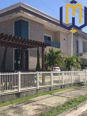 Casa de luxo de esquina em condomínio fechado - Maracanaú/CE
