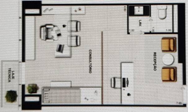 Excelente Ponto Alpha Shooping - Sala Comercial 53 m2- Alphaville Centro Comercial Barueri - Foto 12