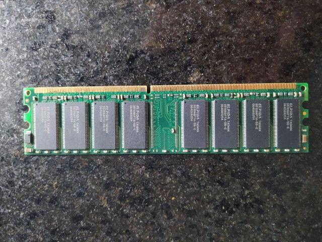 Kit PC Computador Desktop Pentium 4 + cooler + Placa Mãe Gigabyte Ga-8i865gme-775 + rede - Foto 4