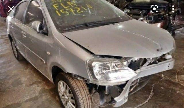 Sucata de Toyota etios