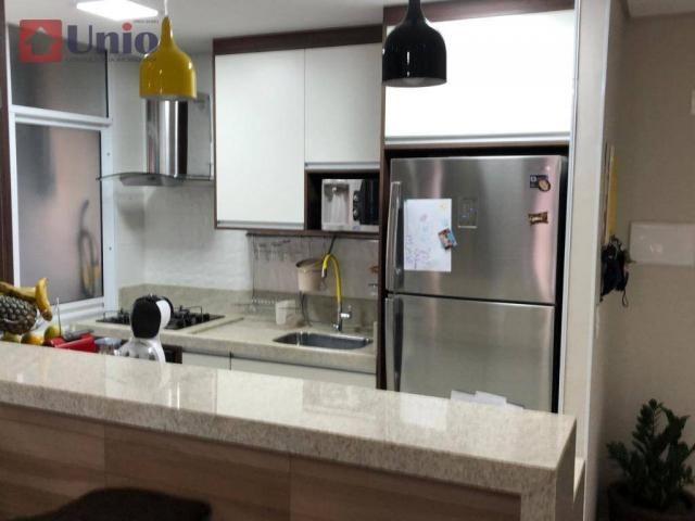 Apartamento com 3 dormitórios à venda, 68 m² por R$ 390.000 - Alto - Piracicaba/SP - Foto 19