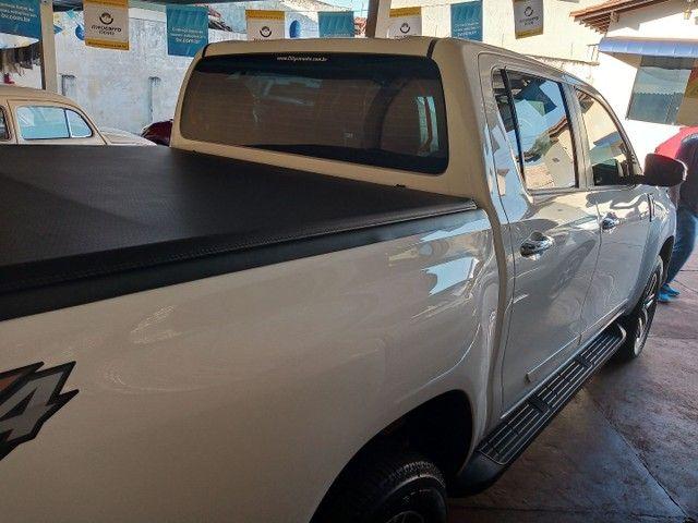 Hilux srv completo automático diesel 2019/2020 - Foto 4