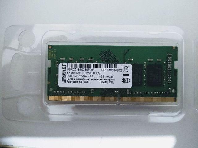 Memória RAM 4GB Usada - Notebook (Ideapad 330)