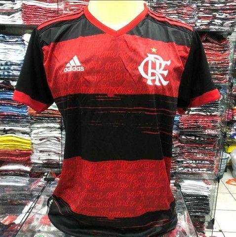 Camisa Flamengo Adulto Infantil Feminina e Vestido