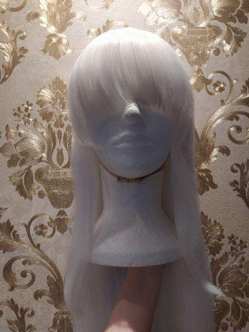 Peruca branca cosplay :))
