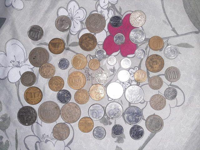 Cedulas e moedas antiga