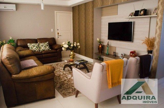 Apartamento com 3 quartos no Edifício Vitória Regia - Bairro Centro em Ponta Grossa - Foto 3