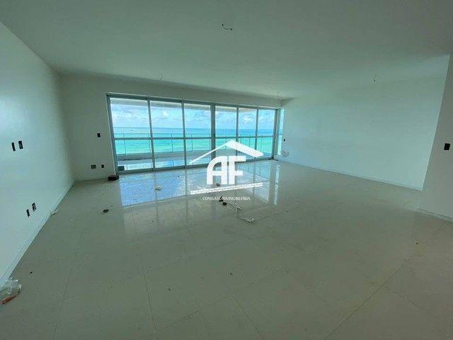 Cobertura nova com Vista total e ampla na beira mar da praia de guaxuma - Foto 5