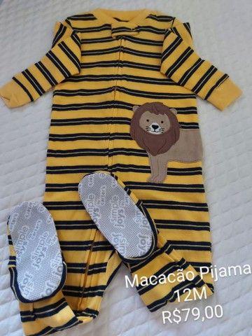 Macacão Pijama Carter's 12M