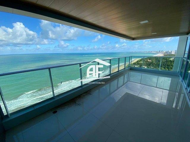 Cobertura nova com Vista total e ampla na beira mar da praia de guaxuma - Foto 2