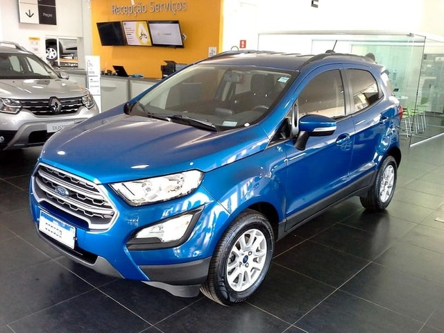 Ford Ecosport 2018 1.5 tivct flex se manual
