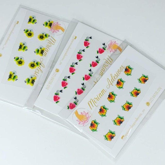 50 cartelas de adesivos 3D - Foto 2