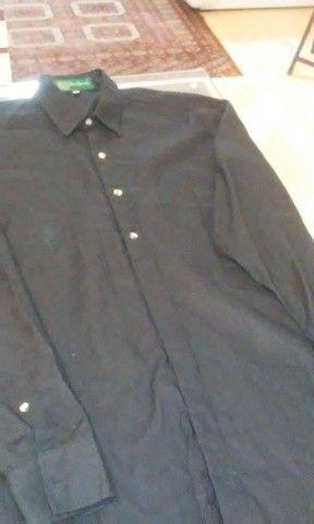 Camisa Preta Dom Vicente
