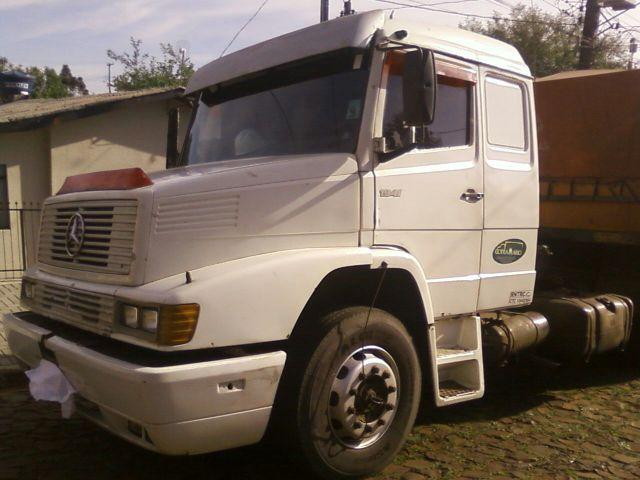 MERCEDES BENZ 1941  ANO 1991, 6X2  ENGATADO CARRETA RONDON
