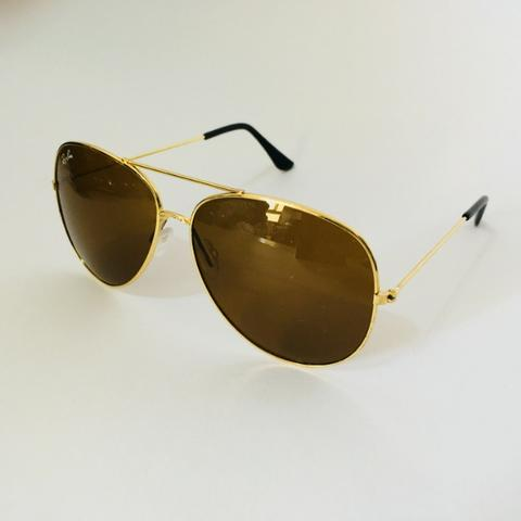 Óculos Rayban Aviador Clássico - Bijouterias, relógios e acessórios ... 48f113238a