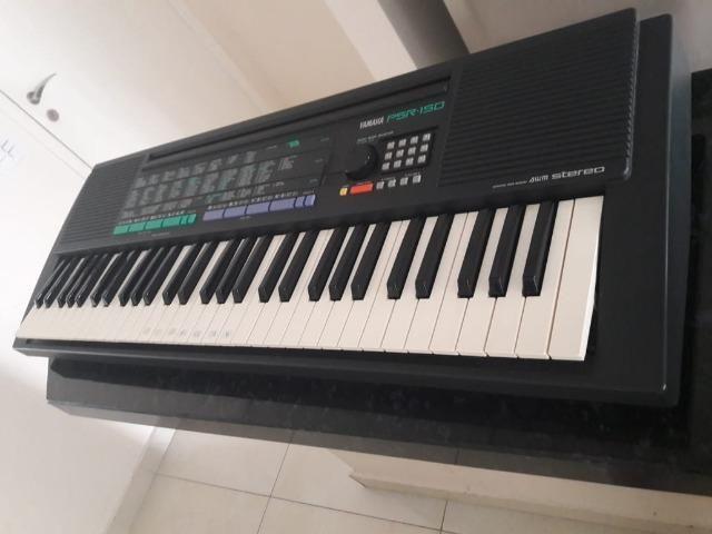 Teclado, Yamaha, 36 teclas, preto