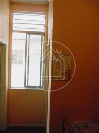 Apartamento à venda com 1 dormitórios em Rio comprido, Rio de janeiro cod:791824