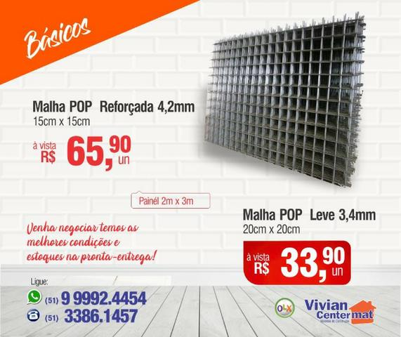 Malha Pop 3,4mm - Painel 2m x 3m