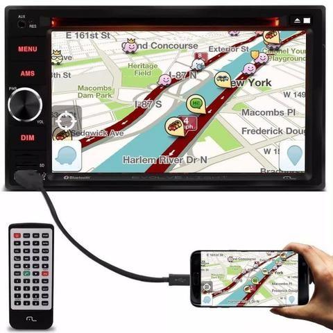 Sem trocas - DVD Central Multimídia 6,2 Pol. USB Bluetooth Espelhamento NOVO - Araraquara