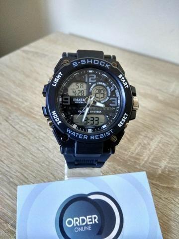 Relógio S-Shock Steel a Prova D?Água