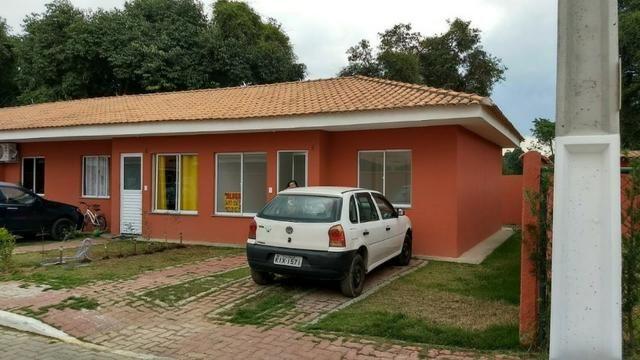 Casa Térrea - Condomínio Fechado (Sta Cruz da Serra) - Financiamento Bancário